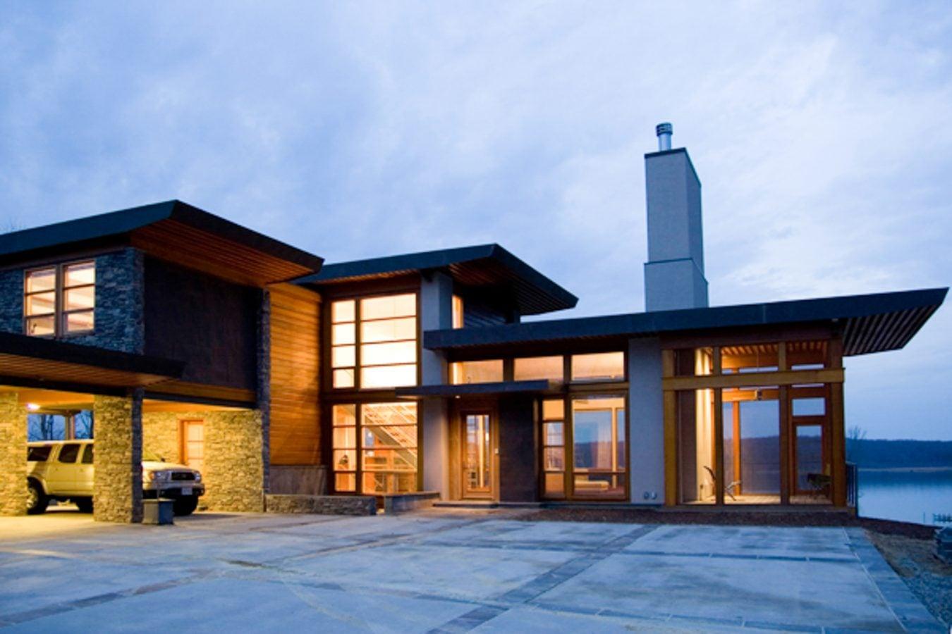 Nottingham Residence Vermont Structural Slate